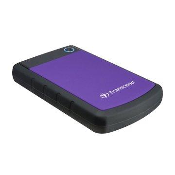 Transcend 創見 StoreJet 25H3 軍規防震 3TB 2.5吋 外接硬碟-紫