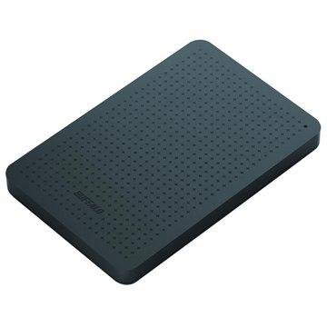 Buffalo MiniStation PCF 1TB 2.5吋 外接硬碟-銀