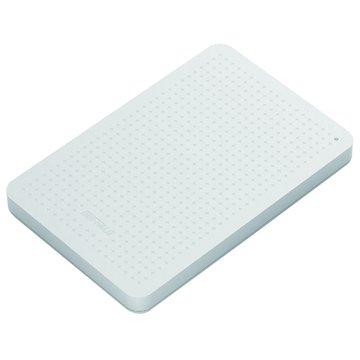 Buffalo MiniStation PCF 1TB 2.5吋 外接硬碟-白