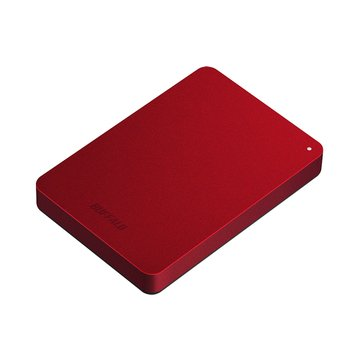 Buffalo MiniStation PNF 1TB 2.5吋 外接硬碟-紅