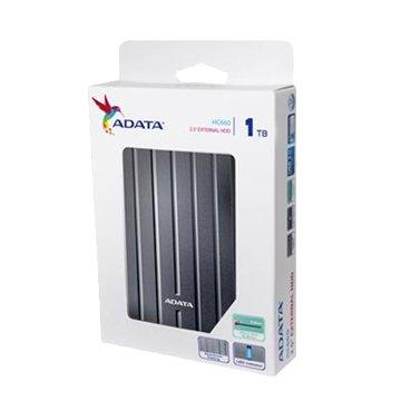ADATA 威剛 HC660 1TB 2.5吋 USB3.0 外接硬碟-鈦