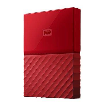 WD My Passport WESN 4TB 2.5吋 行動硬碟-紅(星光折扣)