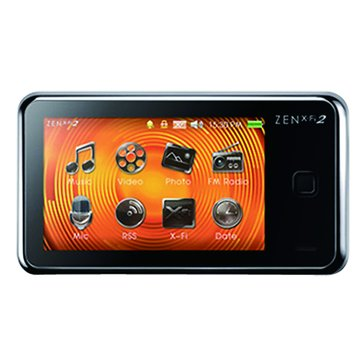 CREATIVE ZEN X-Fi II 8G黑色