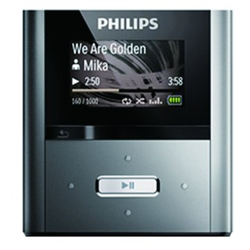 Philips RaGa 2G 黑 MP3