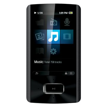 "Philips AriaZ 4G 黑 2.4"" MP4(福利品出清)"