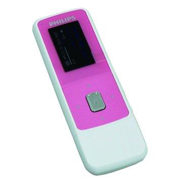 Philips GoGear 2GB 粉紅 MP3(福利品出清)
