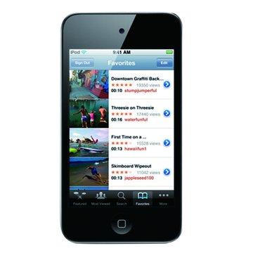 iPod Touch 32G 黑(1010)(4th GEN)(福利品出清)