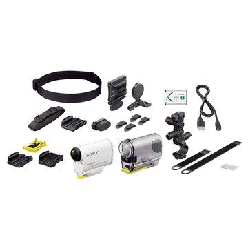 HDR-AS100VB白 插卡式運動攝影機