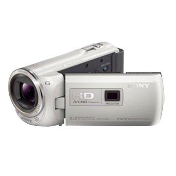 HDR-PJ380白 插卡式攝影機