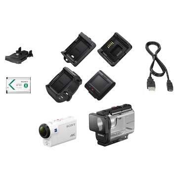 FDR-X3000R白 插卡式4K即時運動攝影機
