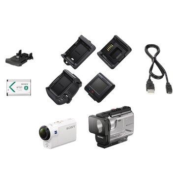 SONY 新力牌 HDR-AS300R白 HD插卡式運動型攝影機