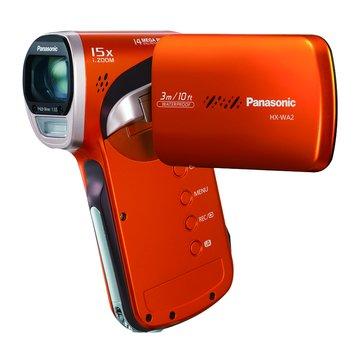 HX-WA2 防水數位攝影機(橘)