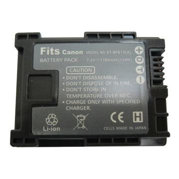 BP-819副廠攝影機鋰電池