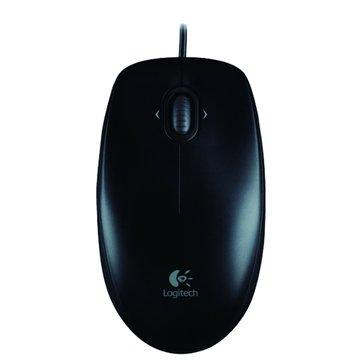 黑/M100光學滑鼠/USB