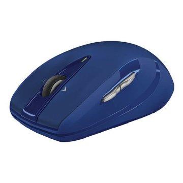 Logitech M545無線滑鼠(藍)