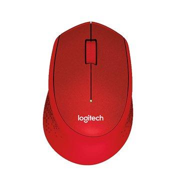 Logitech 羅技 M331 靜音無線滑鼠/USB(紅)