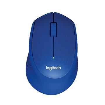 Logitech 羅技 M331 靜音無線滑鼠/USB(藍)