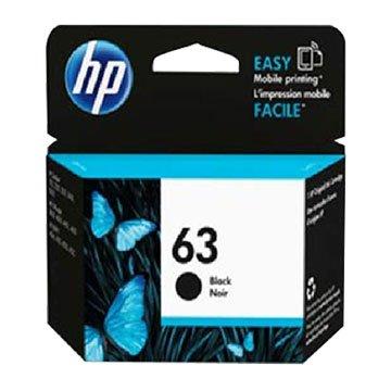 HP F6U62AA(63) 黑色墨水匣