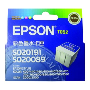 EPSON T052050 彩色墨水匣