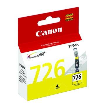 Canon 佳能 CLI-726Y 黃色墨水匣