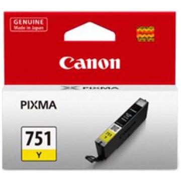 Canon 佳能 CLI-751Y 黃色墨水匣