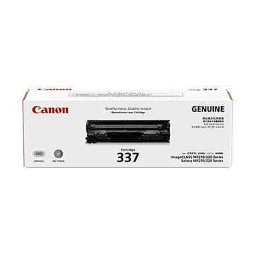Canon 佳能 337 黑色碳粉匣