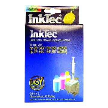 InkTec 偉橋 C8766/C9363彩色25ccX3含工具