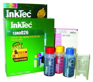 InkTec 偉橋 10N0026彩+工具填充墨水