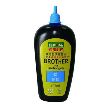SEPOMs 西本 Brother 藍色125cc補充液