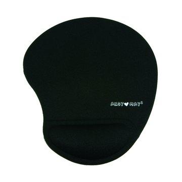 M13軟骨頭舒壓護腕滑鼠墊(黑)