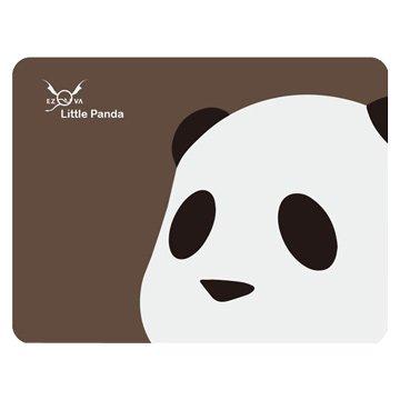 竹炭滑鼠墊/熊貓/咖底