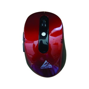 WSS75無線光學鼠(紅)