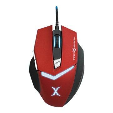FOXXRAY FXR-BM-11-RD雪月獵狐電競滑鼠(紅)