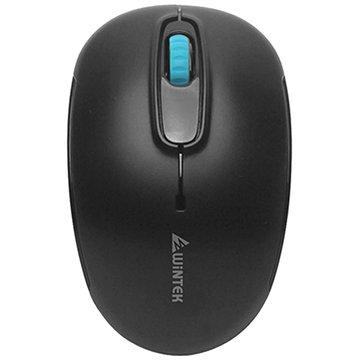 WINTEK 文鎧 1200B平價王智能省電無線鼠(黑)