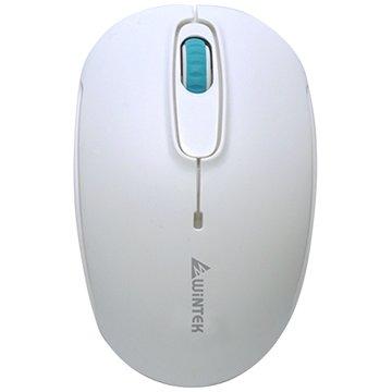 WINTEK 文鎧 1200W平價王智能省電無線鼠(白)
