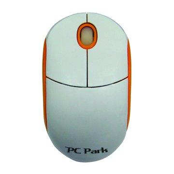 白橘/PC-990UWO光學滑鼠/USB