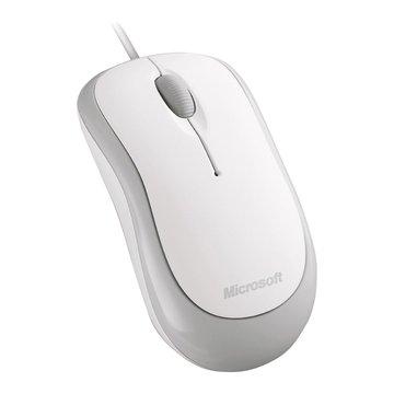 Microsoft 微軟 入門光學鯊/USB(海鷗白)