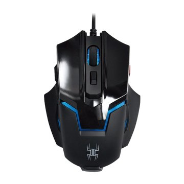 Lexma  G90有線遊戲滑鼠(黑)