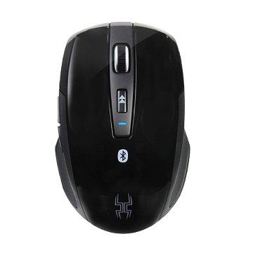 Lexma  B600R雙模無線藍牙藍光滑鼠(黑蜘蛛)