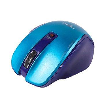 Lexma  M810R 極致人體工學手感 無線藍光鼠(藍)