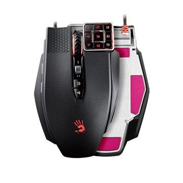 ML16 BLOODY 九宮格鐳射遊戲鼠/USB(黑)
