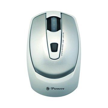 EP-027SW光學滑鼠/USB(銀白)
