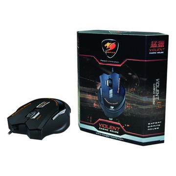黑/VIOLENT猛獵電競滑鼠/USB