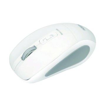 MSW-BL560飛碟無線藍光鼠(白)