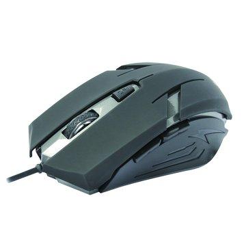 INTOPIC 廣鼎 MS-079UFO飛碟光學鼠/USB(黑)