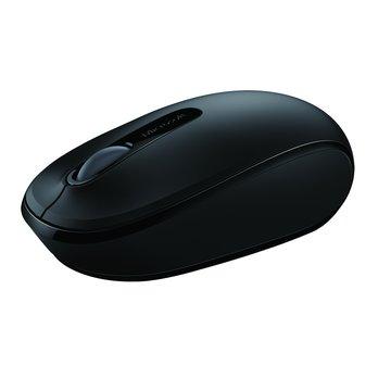 Microsoft 1850無線行動滑鼠(黑)