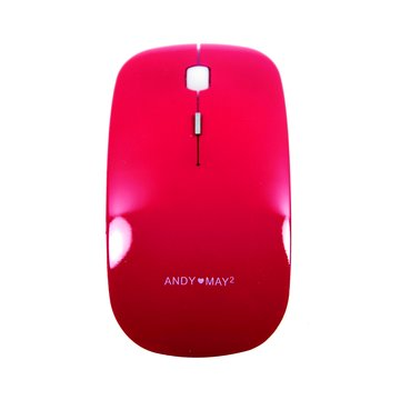 AMJ-110 2.4G無線小飛鼠(紅)