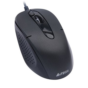 D570FX無孔絕塵有線鼠/USB(黑)