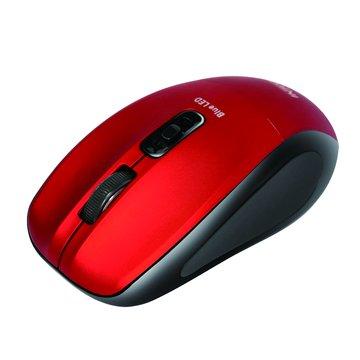 MSW-BL560飛碟無線藍光鼠(紅)