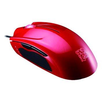 聖武士SAPHIRA光學電競滑鼠/USB(紅)